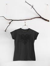 Load image into Gallery viewer, Albanian eagle Round Neck Casual (Women T-shirt)