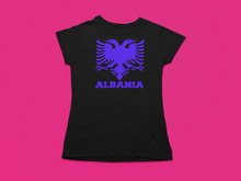 Load image into Gallery viewer, Albanian eagle with Albania text on the bottom ( Women T-shirt )