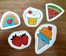 Load image into Gallery viewer, Glossy Vinyl Stickers | Sketchbook Stickers | Laptop Stickers | Scrapbooking Stickers | Cute Stickers