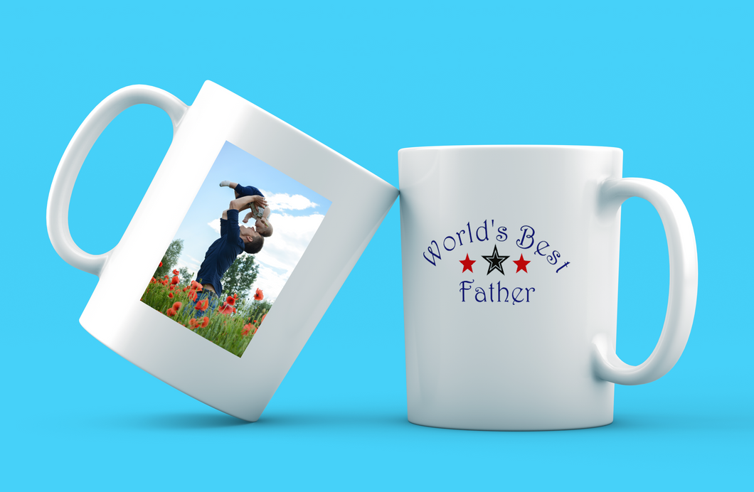 Fathers Day Mug | Worlds Best Father | Worlds Best Dad | Worlds Best Daddy