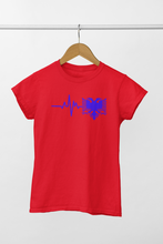 Load image into Gallery viewer, Heart Beat Albania T-shirt ( Men's T-shirt )