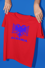 Load image into Gallery viewer, Albanian eagle with Albania text on the bottom ( Man T-shirt )