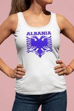 Load image into Gallery viewer, Albanian eagle with Albania text  (Woman's vest )