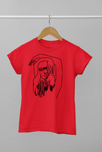 Load image into Gallery viewer, Women sketch design t-shirt