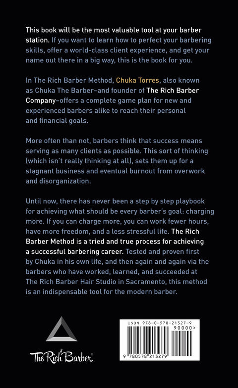 The Rich Barber Method Book (Softcover & Audio Bundle)