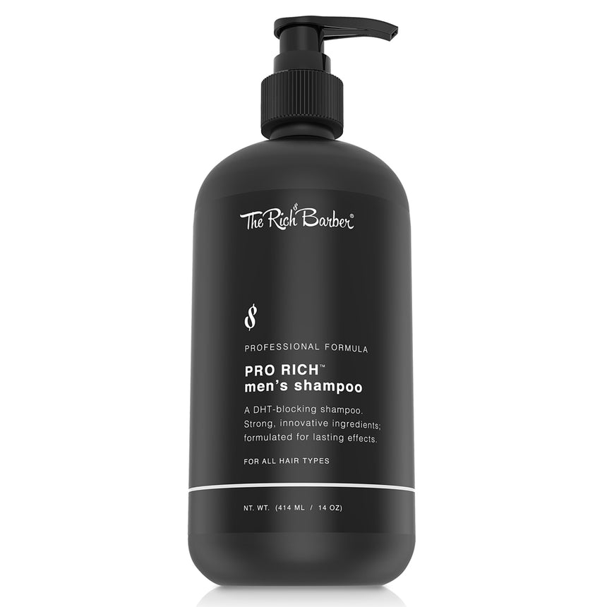 Pro-Rich Men's Shampoo, 14 oz. (DHT-Blocking Formula)