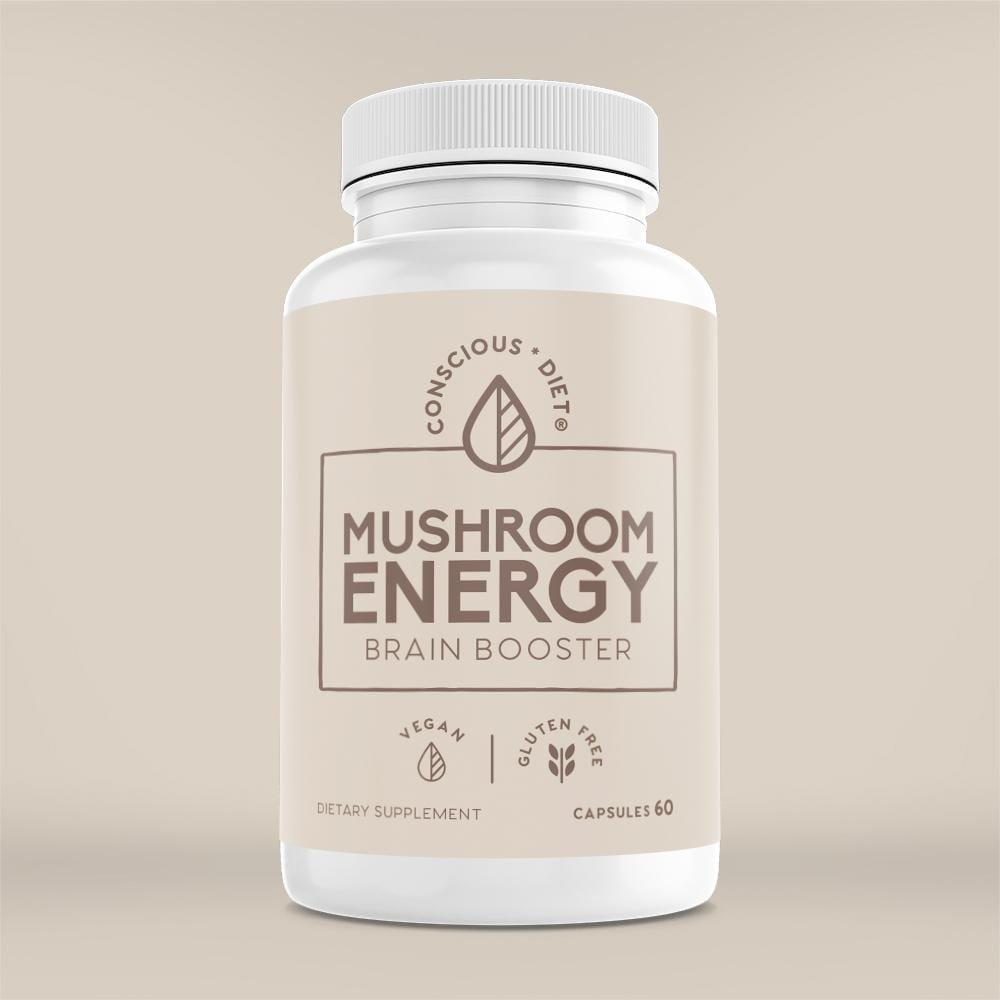 Brain Booster with Lion's Mane Mushroom Extract - Conscious Diet