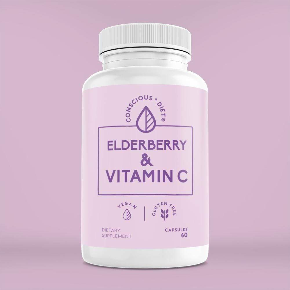 Elderberry and Vitamin C - Conscious Diet