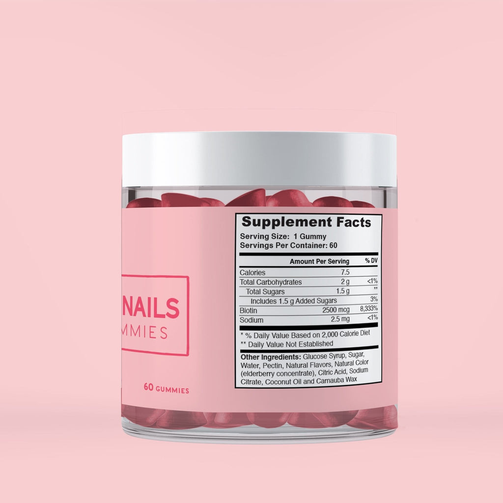 Hair skin nail Gummies - Conscious Diet