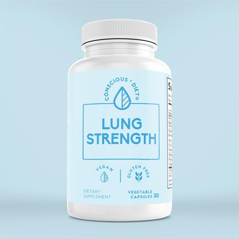 Lung Strength - Conscious Diet