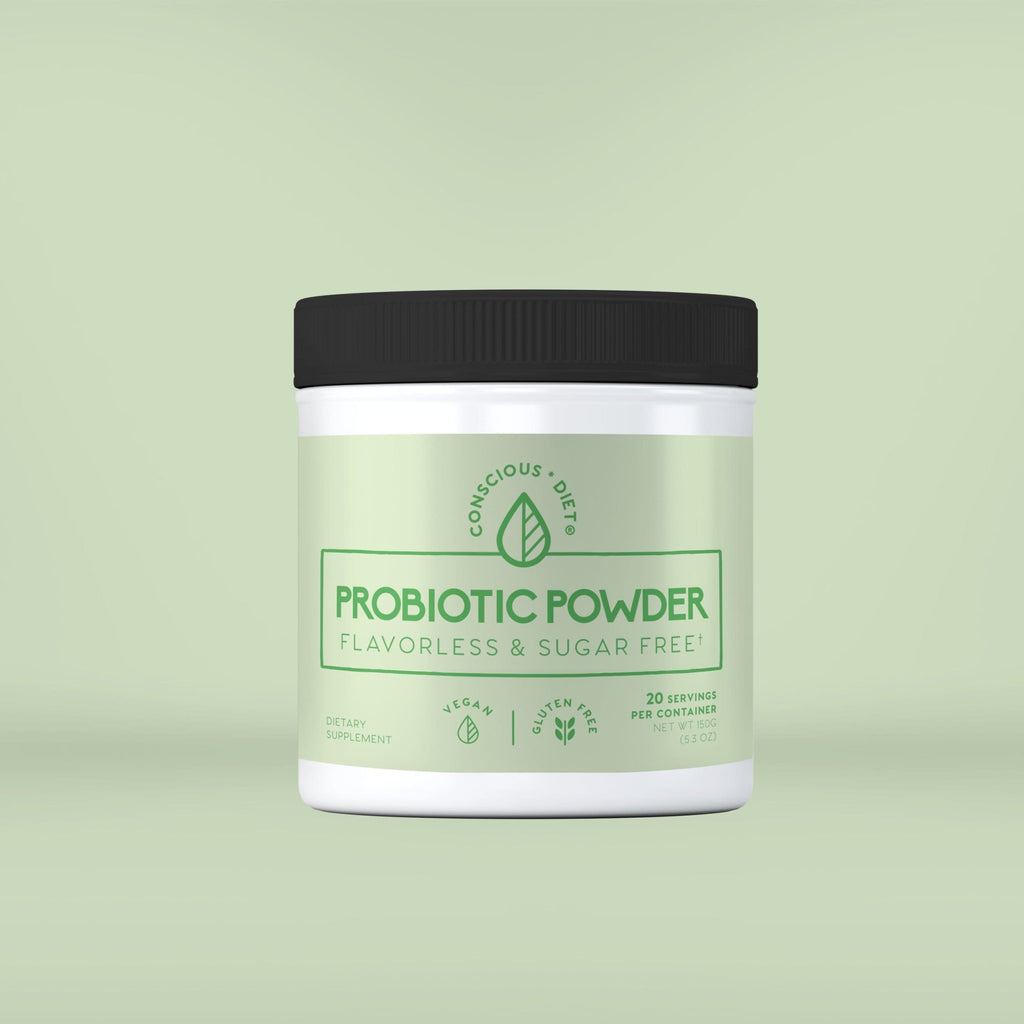 Probiotic Powder Flavorless and Sugar Free - Conscious Diet