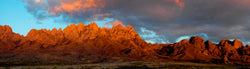Peach Clouds over the Organ Mountains
