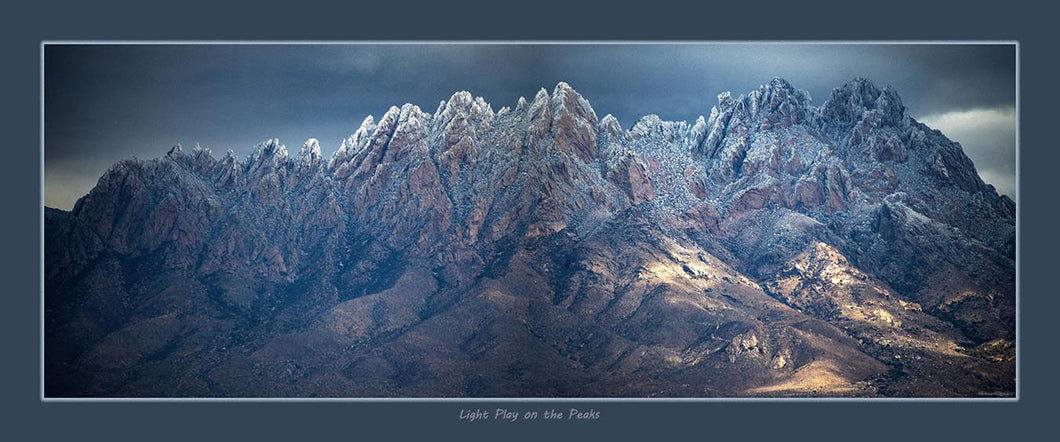 Light Play On The Peaks