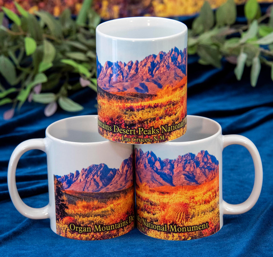 Coffee Mug - Organ Mountains Desert Peaks National Monument