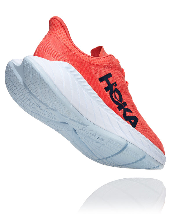Hoka One One Carbon X 2 Women's Diva Hot Coral Black Iris