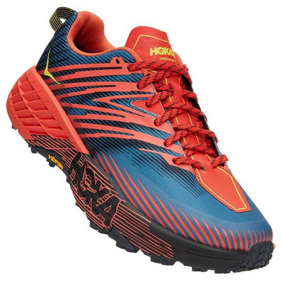 Hoka Speedgoat 4 Wide Men's Fiesta Provincial Blue