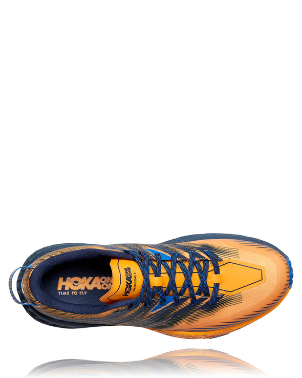 Hoka Speedgoat 4 Men's Saffron Black Iris