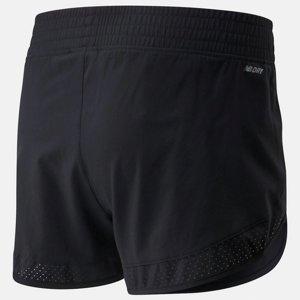 New Balance Accelerate Stretch 3 Inch Short Women's Black