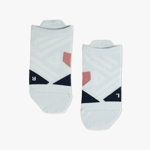 On Running Low Sock Women's Grey Midnight