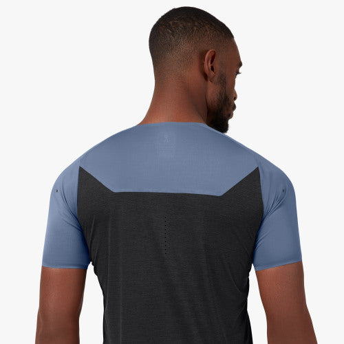 On Running Performance T Cerulean Black