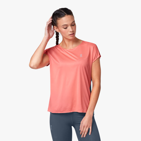 On Running Performance T Women's Coral Storm