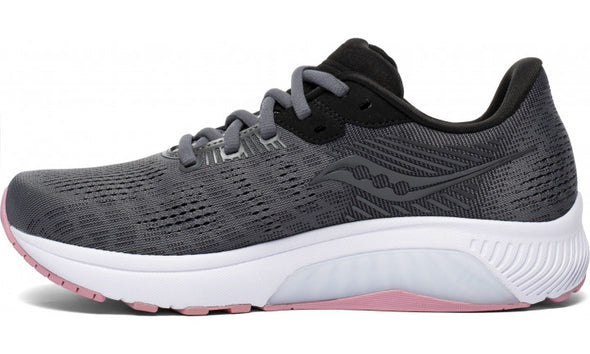 Saucony Guide 14 Women's Charcoal Rose
