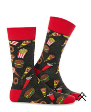 Load image into Gallery viewer, Fastfood Print Socks