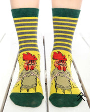 Load image into Gallery viewer, Rooster Head Print Socks