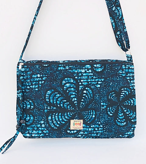 Blue Batik -15 Inch Laptop bag