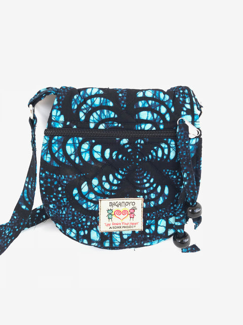 Blue Batik-Mini-Bag