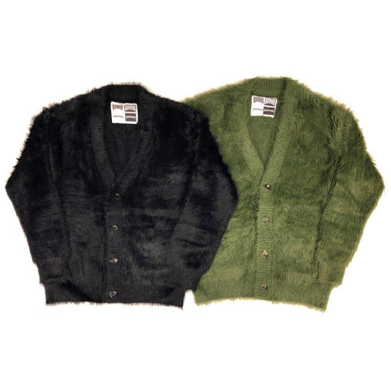 Shaggy Knit Cardigan/NOR-0124