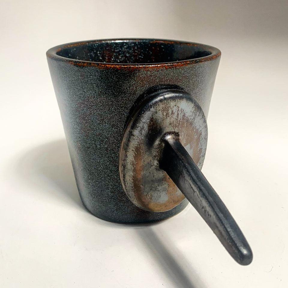 Littlefinger, Stoneware, Galaxy and Broken Gold.