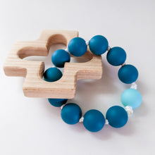 Load image into Gallery viewer, Rosary Teething Ring - Stella Maris