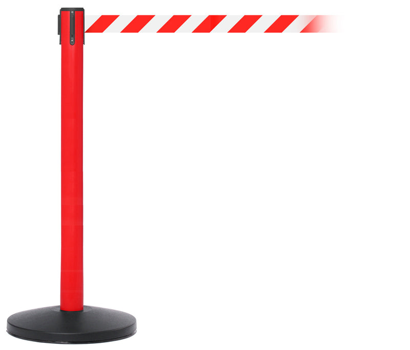 SafetyMaster Red Belt Stanchion