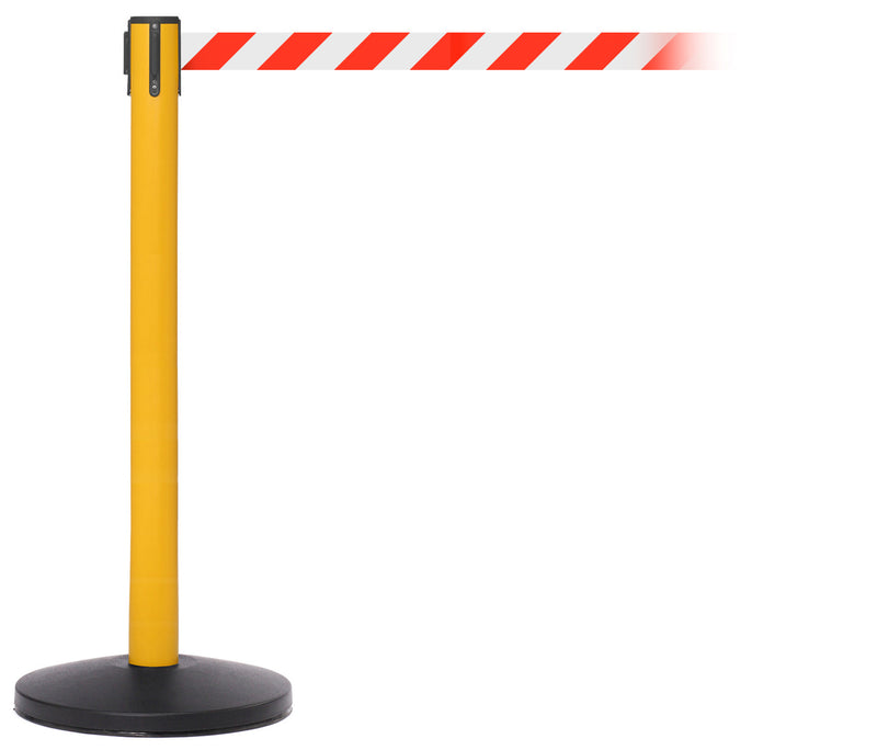 SafetyMaster Yellow Stanchion