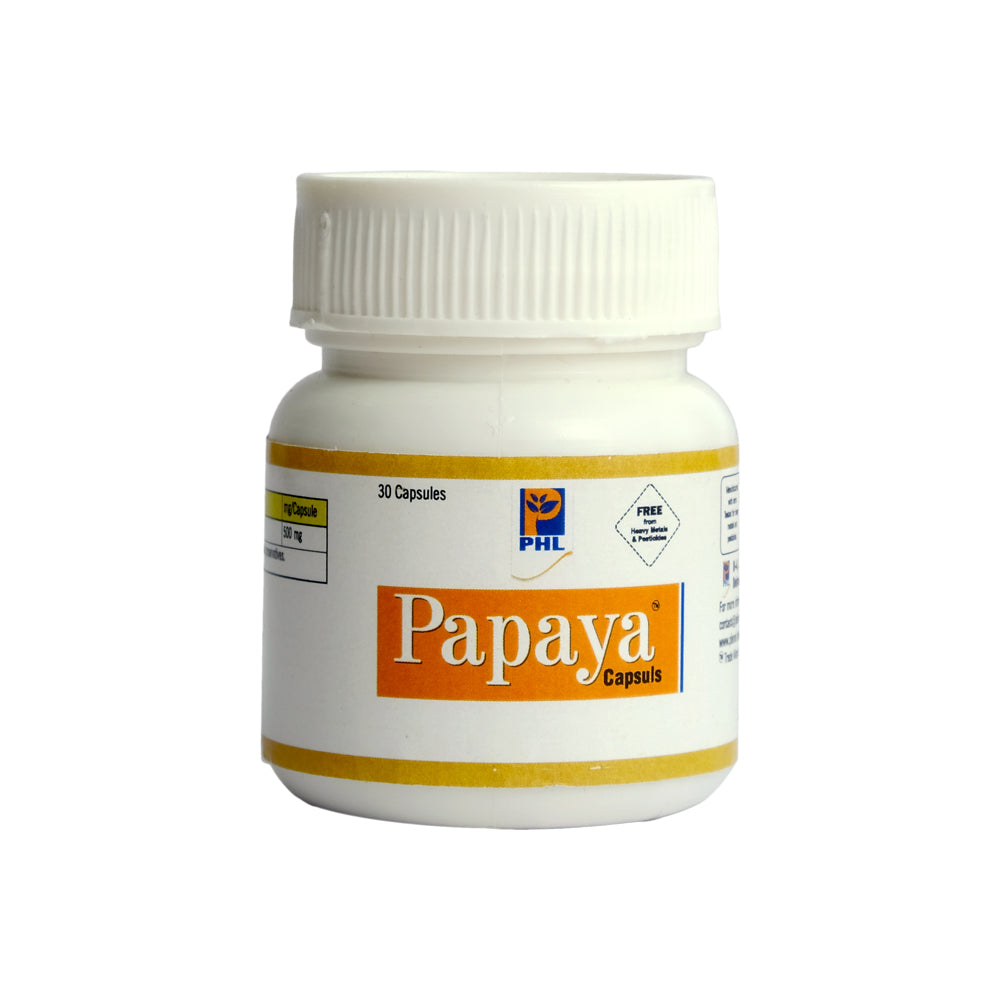 Papaya Capsules (Pack of 30 tables)