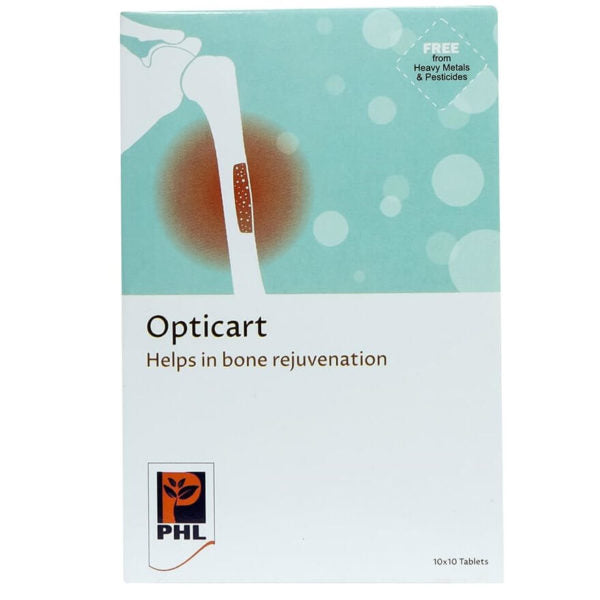 Opticart Tablets (Pack of 10 x 10 Tablets)