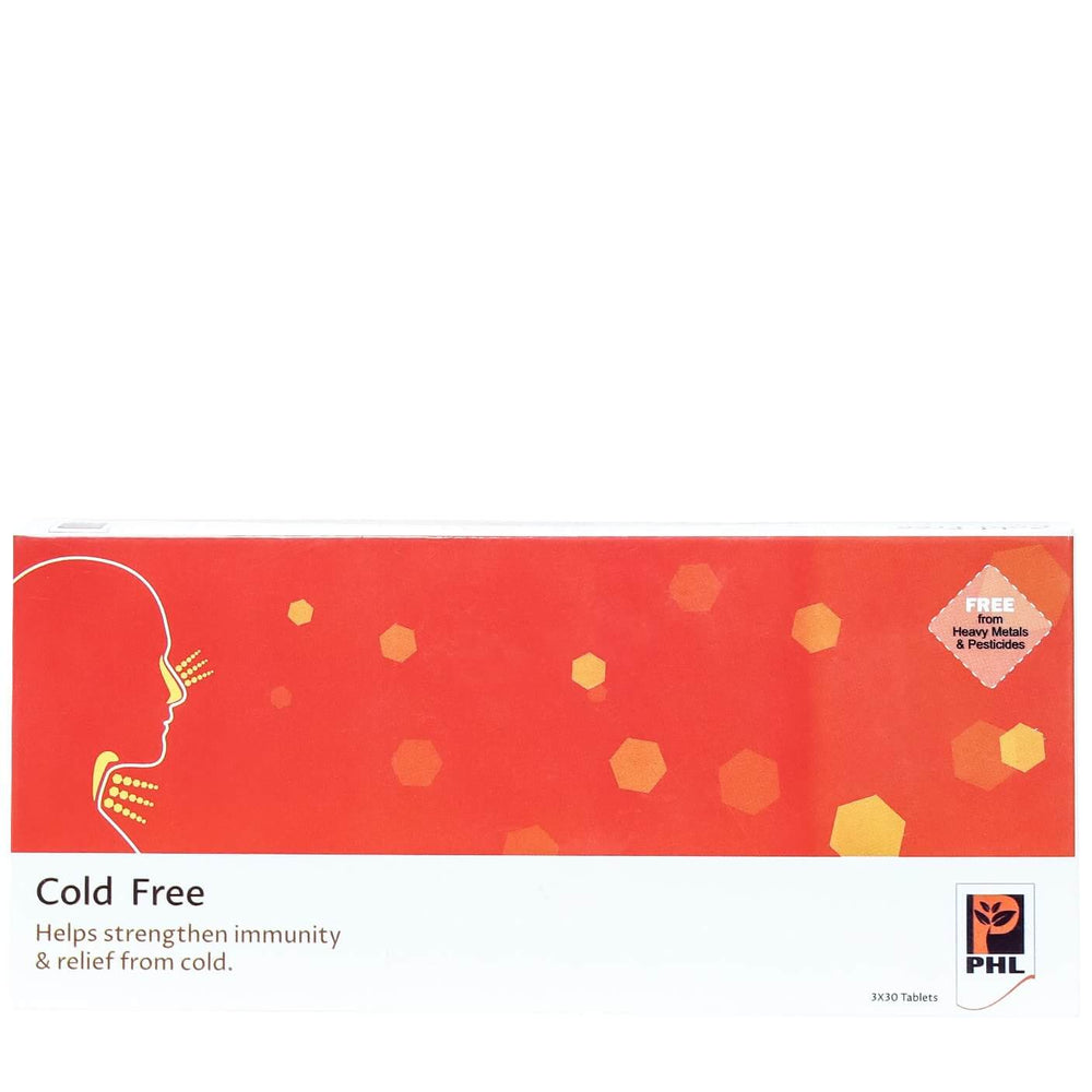 Cold Free Tablets (Pack of 30 tablets)