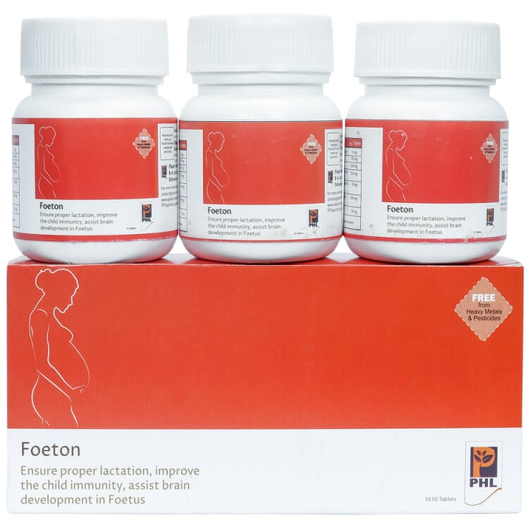 Foeton Tablets (Pack of 30 tablets)