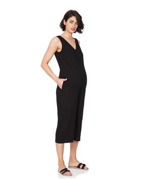 Lily Feeding Jumpsuit- Black