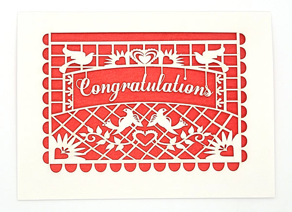 Congratulations · Papel Picado