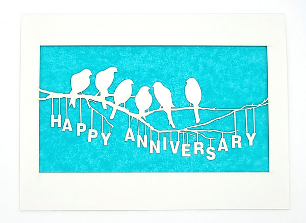 Happy Anniversary · Birds on a Branch