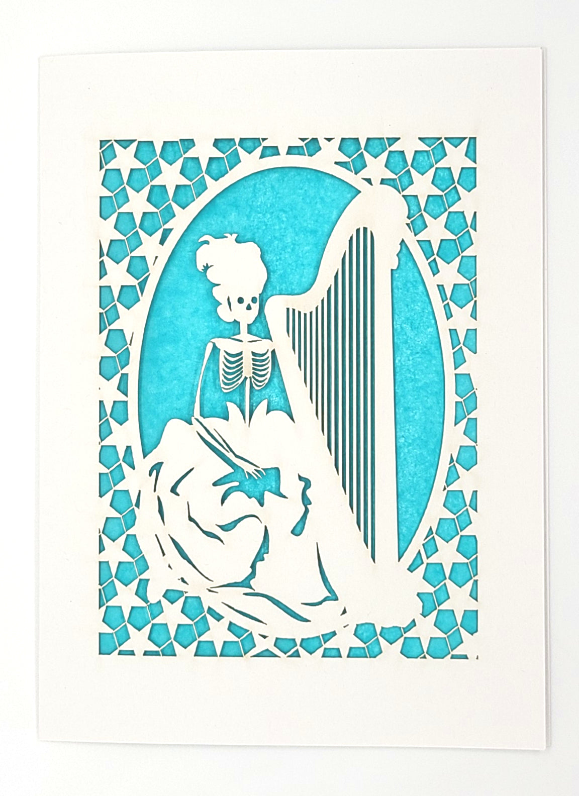 Calavera with A Harp