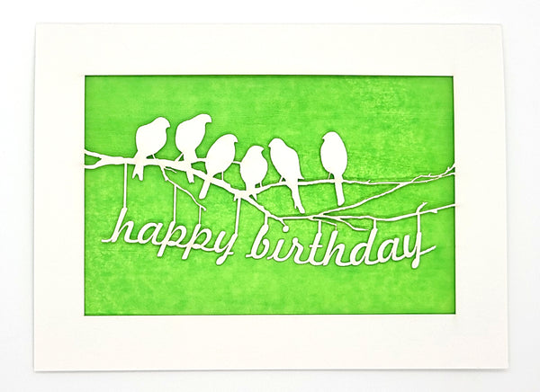 Happy Birthday · Birds on a Branch