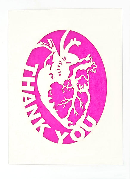 Thank You - Human Heart