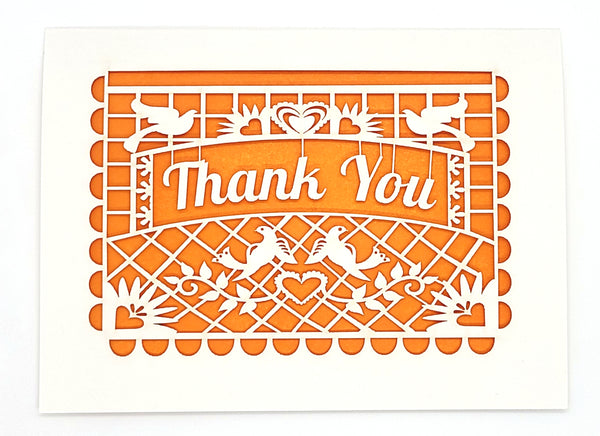 Thank You · Papel Picado