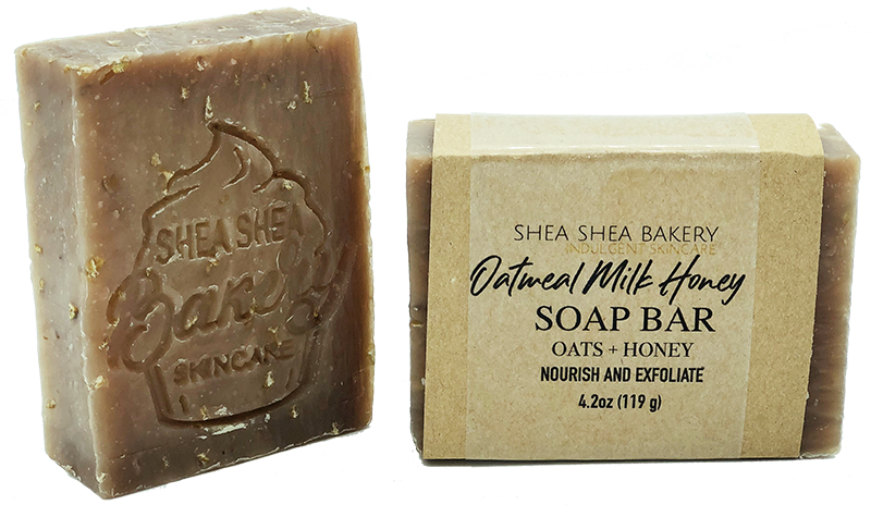 Oatmeal Milk & Honey Soap Bar