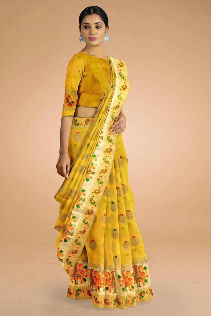 10 Sets Indian Traditional Handloom Silk Sarees Online Shop