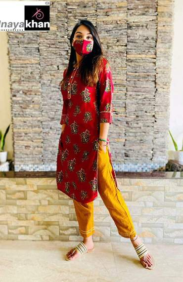 Buy any 10 kurthi Deisgn Suit with Pant and Dupatta