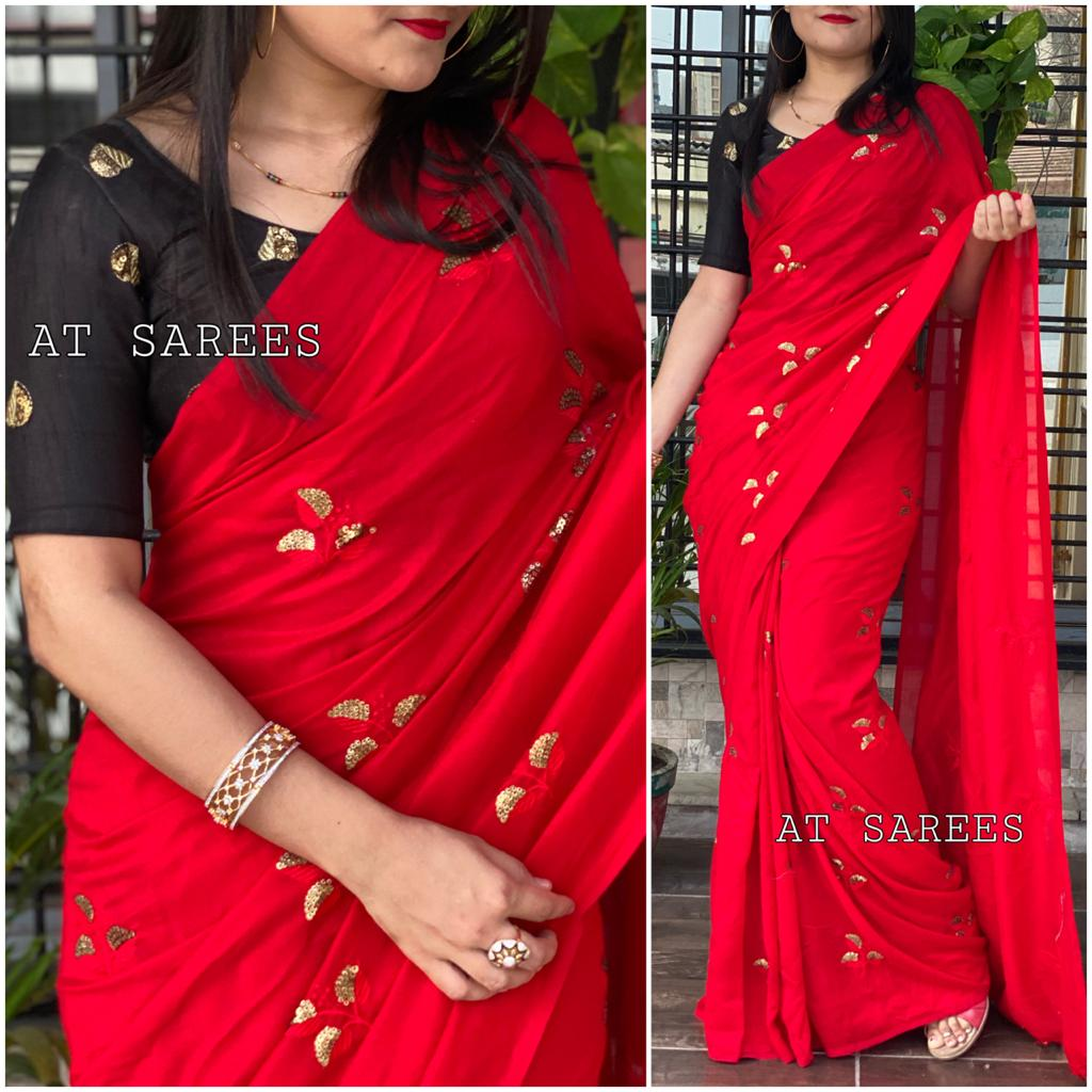 10 Sets Vichitra Cotton Indian Traditional Sarees Online